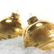 Christmas balls — Stock Photo #3928801