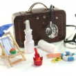First aid kit — Stockfoto