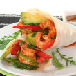 King Prawn - Avocado Wrap — Stock Photo #4815442