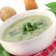 Wild garlic soup — Stock Photo #5289221