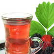 Stock Photo: Forest fruit tea