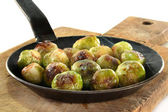 Roasted brussels sprouts — Stockfoto
