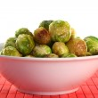 Roasted brussels sprouts — Stock Photo