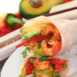Asian Wrap — Stock Photo