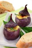 Stuffed onions — Stock Photo
