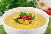 Sopa de maíz — Foto de Stock