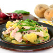 Wild garlic potato salad — Stock Photo #5262709