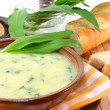 Royalty-Free Stock Photo: Wild garlic soup