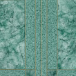 Green marble pattern for background. — ストック写真
