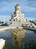 Sameba cathedral — Stock Photo