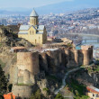 Tbilisi castle — Stock Photo #5346707