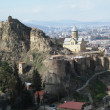 Tbilisi castle - Stock Photo