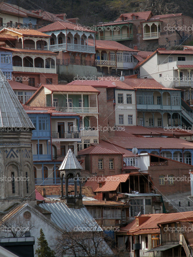 Tbilisi old town view — Stock Photo #5346533