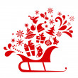 Vector de stock : Christmas graphic elements