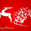 Royalty-Free Stock Vector Image: Christmas background - 4