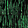 Stock Photo: Matrix code detailed