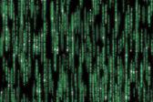 подробный код матрицы — Стоковое фото