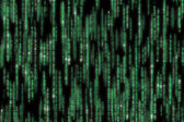 Matrix code detailed — Stock Photo