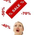 Sale concept — Stock Photo