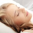 Young woman sleeping — Stock Photo #4820556