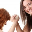 Hands fight — Stock Photo