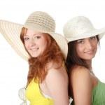 Summer girls — Stock Photo