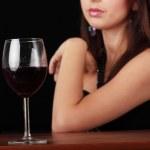 Red wine — Stock Photo #4831555