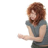 Handgelenk-Schmerzen-Konzept — Stockfoto