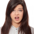 Shocked young woman — Stock Photo #4864368