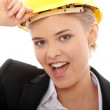 Portrait of confident female worker — Stock Photo #4864837