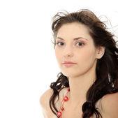 Jonge kaukasische vrouw — Stockfoto
