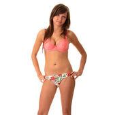 Подростковая девочка пляжа — Стоковое фото