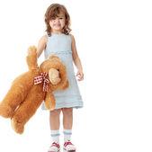 портрет 5-летней девочки — Стоковое фото