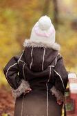 Ritratto di una ragazza di 5 anni — Foto Stock