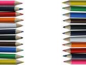 Křídy barevné tužky - pastelky — Stock fotografie