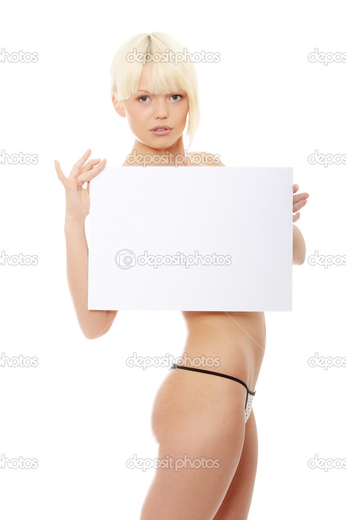 Sorry, Naked girl holding a sign commit error