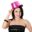 Party girl — Stockfoto
