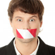 Freedom of speech concept. — Stock Photo #4997465