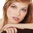 Teen girl in evening make up — Stock Photo
