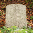 Single old grave — Stock Photo