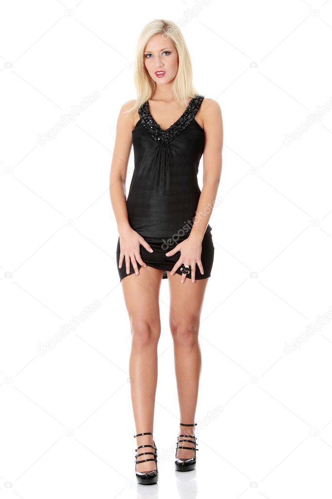 depositphotos 4998012 Blond woman in sexy dress BellaTonks   FanFiction.