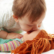 Baby girl - Stockfoto