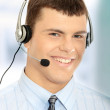 Customer service operator — Stock Photo #5006060