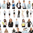 Business-collection — Stockfoto