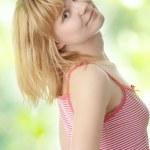 Graceful woman posing — Stock Photo