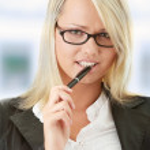 Blond businesswoman — Stock Photo #5007153