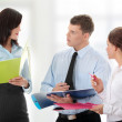 Conversation of business group — Stock Photo