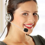 Call center woman — Stock Photo #5008317
