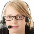 Customer service operator — Photo