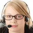 Customer service operator — Stockfoto